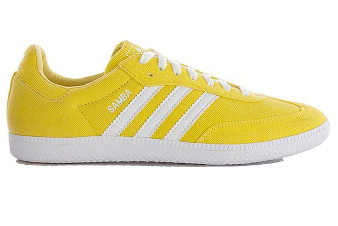 yellow adidas trainers gangnam style