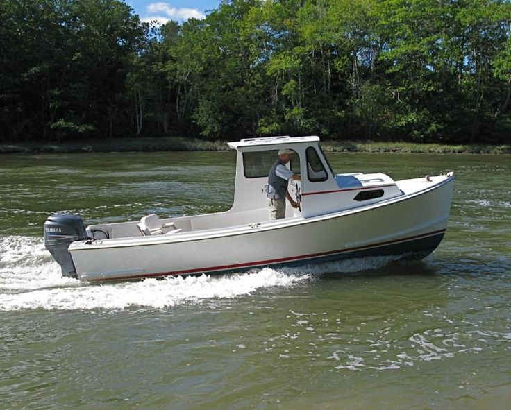 Crowley Beal 23' - Downeast Boat Forum in 2019 | Wooden ...