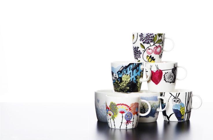 Vallila SS14 mugs