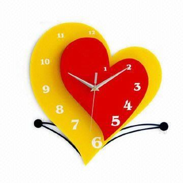 Promotional Wall Clock, Different Designs are Available ...