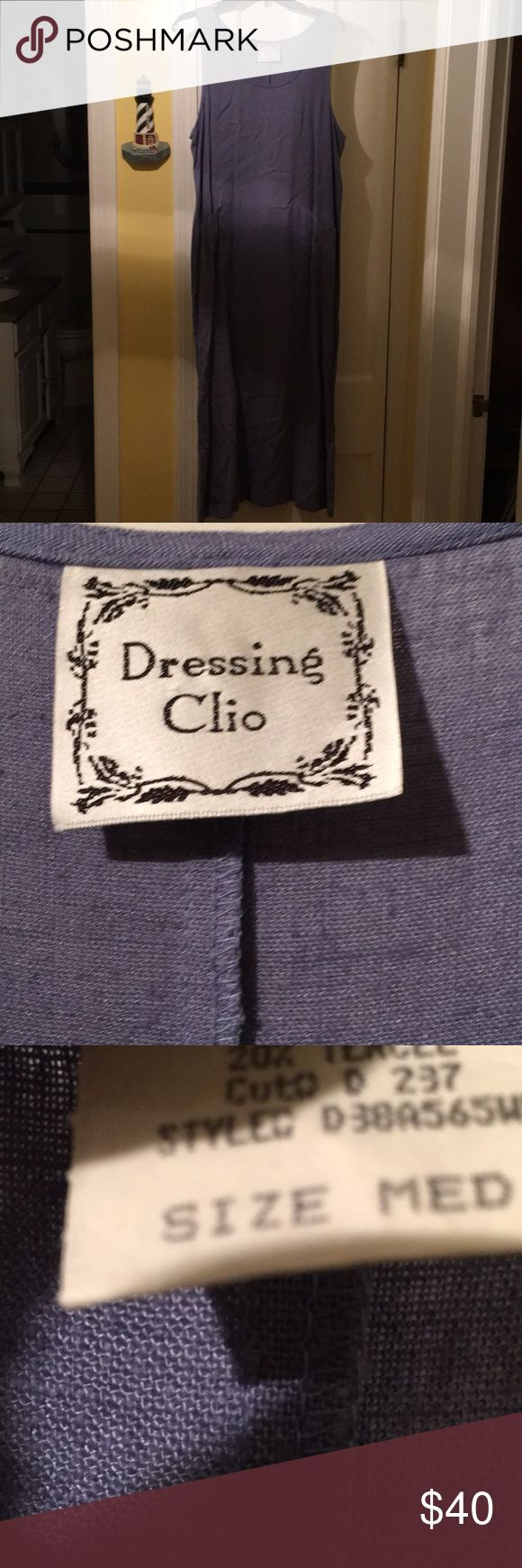Jumper dress Blue jumper dress Dressing Clio Dresses