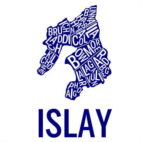Islay i färgen marinblå