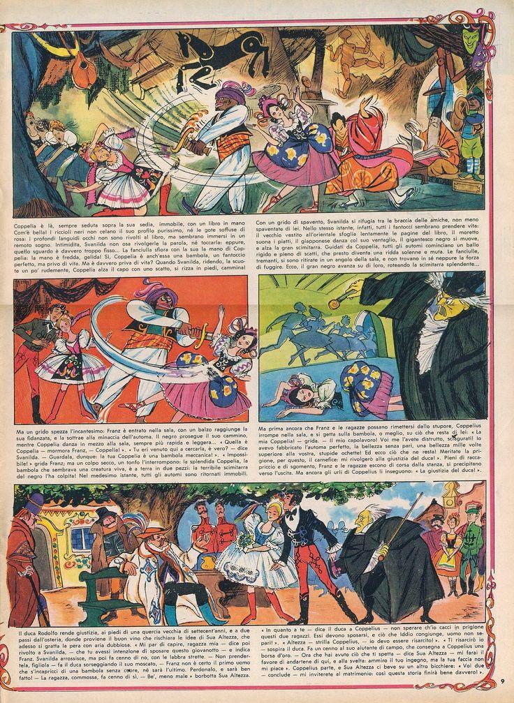 Coppelia 02 Tratto dal nº 7 del 13 febbraio 1966 del Corriere dei Piccoli