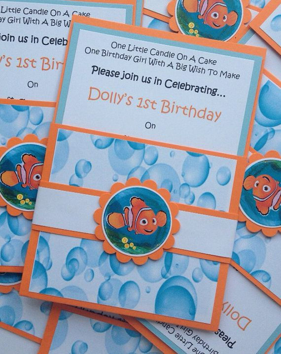 Find This Pin And More On Finding Nemo Baby Shower By Andreinacleary.
