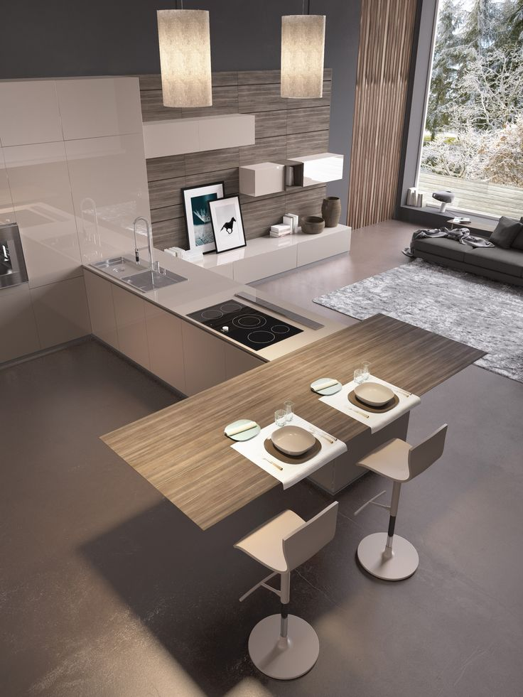 The velvety lacquered finish is pleasant to the touch of wood essences and wood-effect materials.
