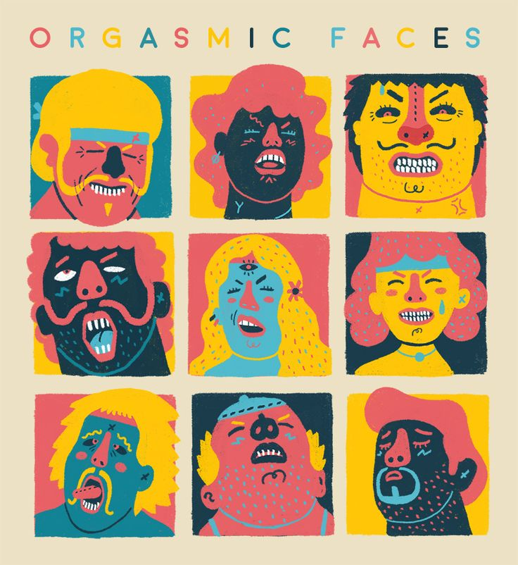 Orgasmic Faces on Behance