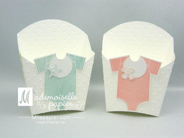 Lot de 10 bonbonnières pour bébé fille ou garçon de la boutique MllePapier sur Etsy