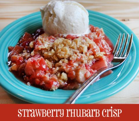Strawberry-Rhubarb-Crisp-Recipe-easy