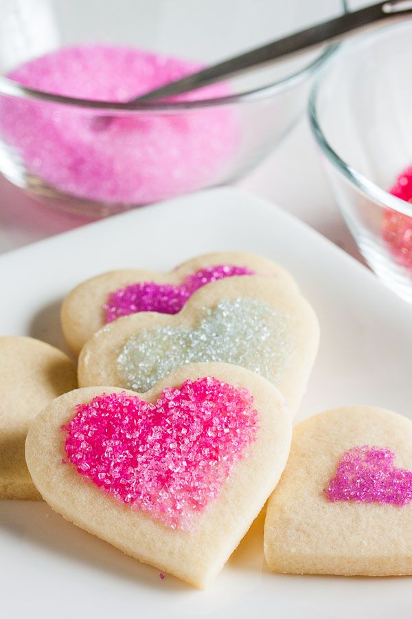 """Soft Sugar Cookies – """"These tender, soft sugar cookies are one of my new favourites. They have a hint of lemon flavour and can be simply decorated with sanding sugars."""""""