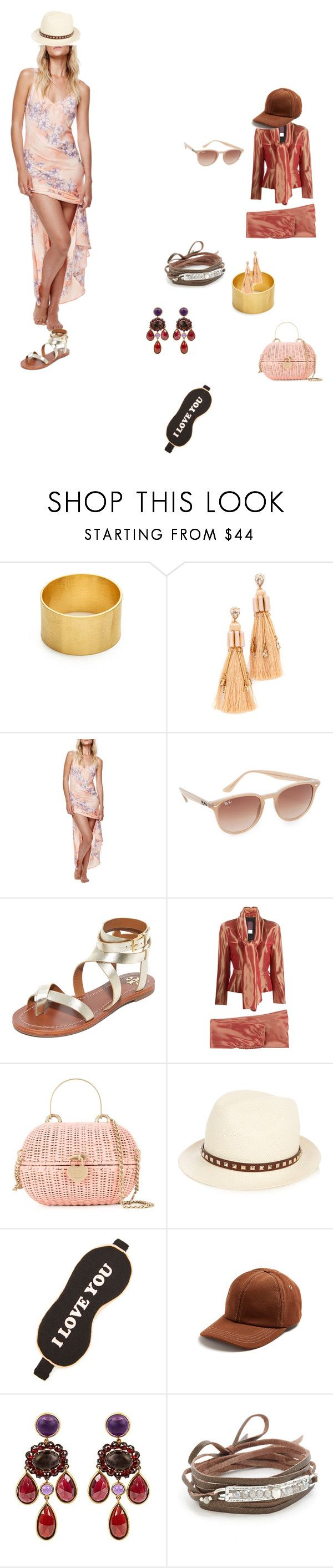 """style stories"" by ramakumari ❤ liked on Polyvore featuring Maya Magal, Elizabeth Cole, Free People, Ray-Ban, Tory Burch, John Galliano, Chanel, Valentino, Wildfox and AMI"