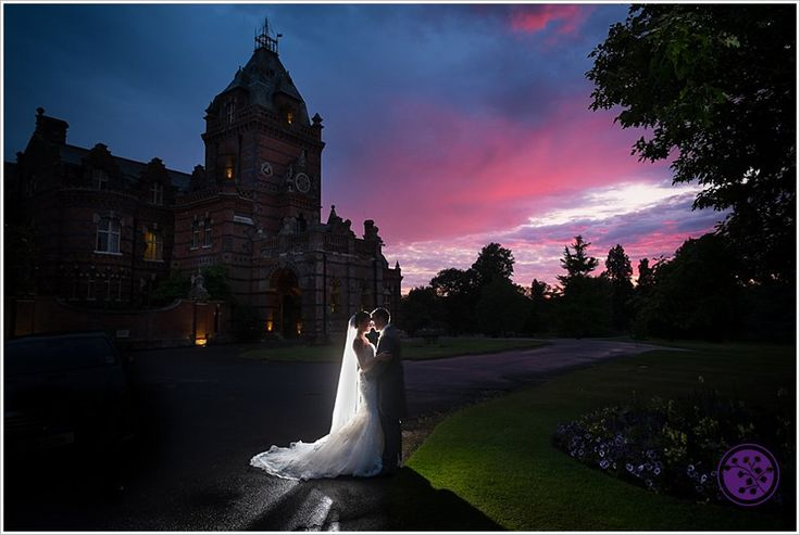 A great end to an amazing day. Sara and Gregg's wedding celebrations at the atmospheric wedding venue of The Elvetham Hotel in Hartney Wintney.