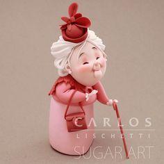 • LADY in PINK   SEÑORA de ROSA • . . . . #CarlosLischetti #arteenazucar #sugarart #animationinsugar #modeladoenazucar #fondant #fondantcake #cakeart #sugarcraft #cakedesign #Chef #cakedesigner #cakesofinstagram #instacake #cake #cakeinspiration #cakeart #ladyinpink #pink #rosa #damaderosa #abuela #grandmother