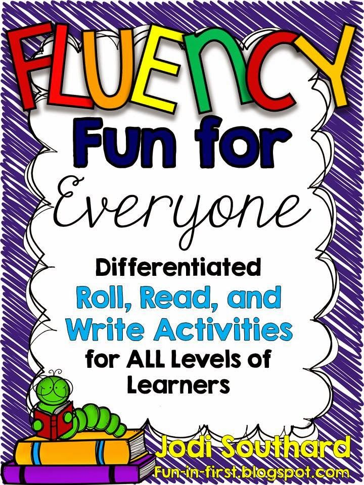 Fluency Fun for Everyone...Differentiated Fluency Practice