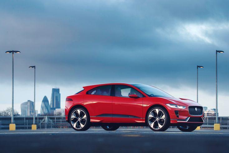 Stromlinie: Jaguar I-PACE #News #Motor