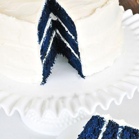 Blue Velvet Cake Recipe | Key Ingredient