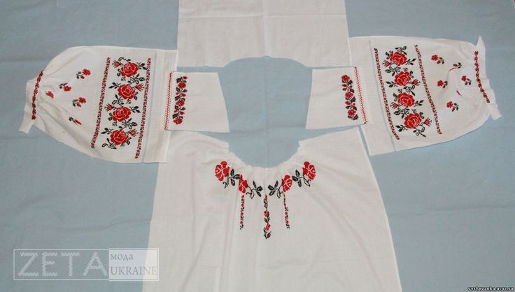How to sew a ukrainian women s folk shirt