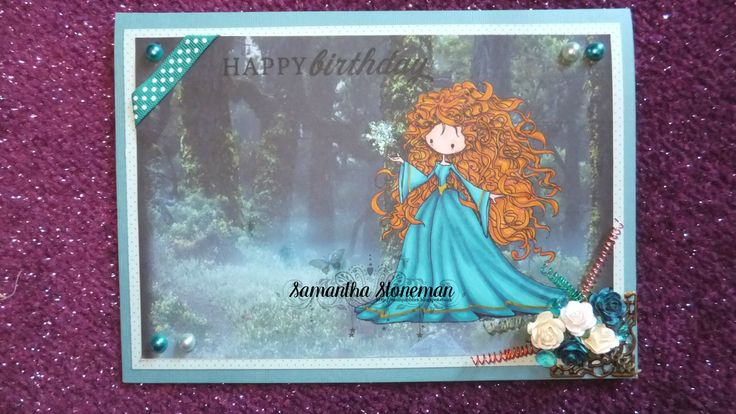 Using Magda from Tiddly Inks, coloured with pro markers. Handmade by Samantha Stoneman