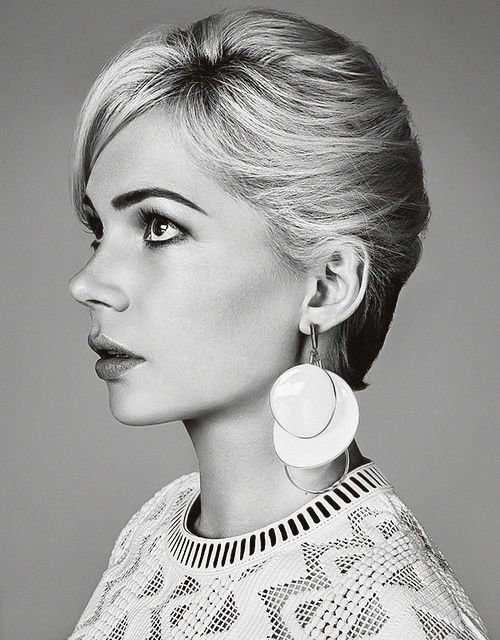Michelle Williams photographed by Damon Baker for Madame Figaro, Jan 2015.