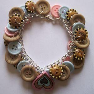 Bulk Buttons For Sale | button bracelet wholesale, cheap button bracelets sale--Huali ...
