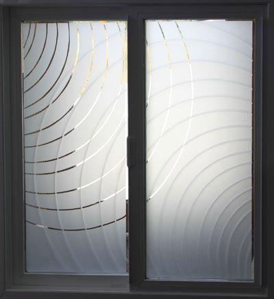 Front Door Etched Glass