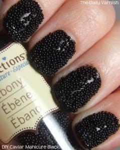 DIY Black Caviar Manicure