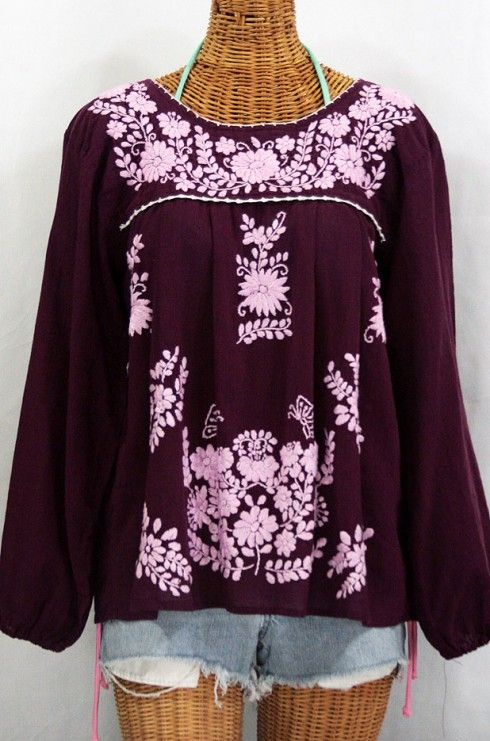 1000 Images About Embroidered Peasant Tops Amp Mexican