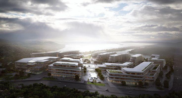Aedas; Huasha Plaza Set to Complete Next Year
