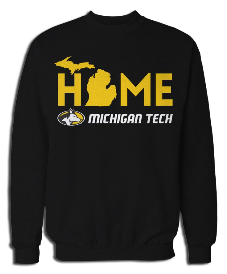 Michigan Technological University - Home With State Outline