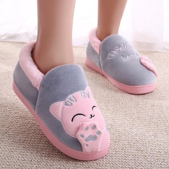 Cat Slippers   Cat slippers, Womens