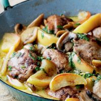 Sautéed Chicken with Cider and Lovage | Recipes | Pinterest