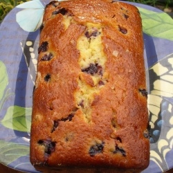 Blueberry Lemon Yogurt Cake - A delicious & easy quick bread filled with lemons, blueberries & the tang of yogurt: Yogurt Cakes, Cupcakes Cookies, Cakes Pi, Cakes Cheesecake