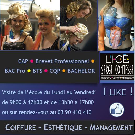 Academy Serge Comtesse , Ecole de coiffure à Strasbourg Bas,Rhin (67),