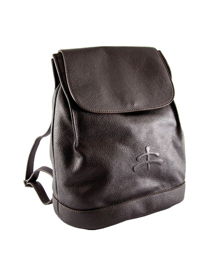 Luxy Backpack leather. 100% Made in Italy. Canvas/Tuscany leather. Made of canvas and Tuscan leather. Refined fittings. Makebe