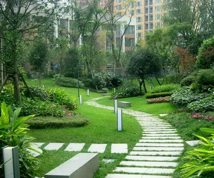 Beautiful Garden Design 259 best stone + paving images on pinterest | gardens, garden