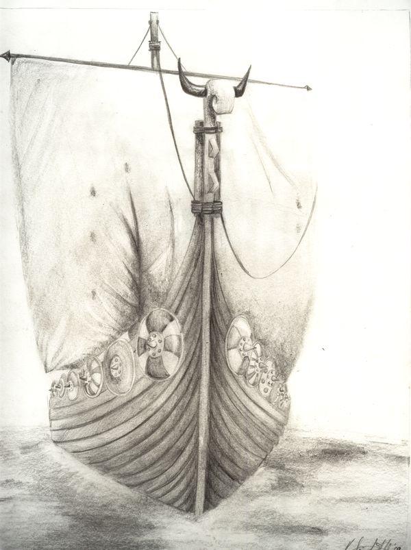 viking ship tattoo - Google Search