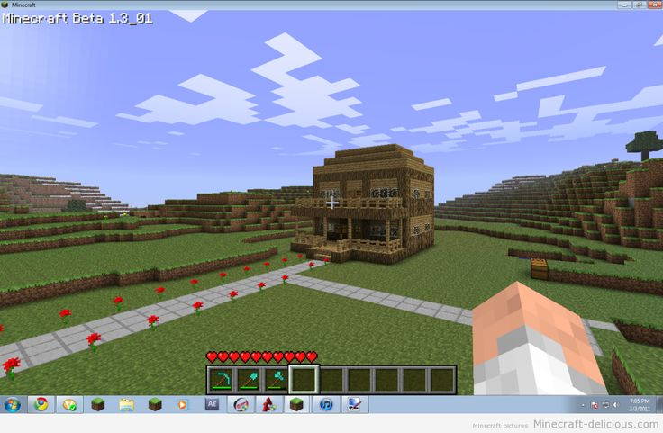 Minecraft home images