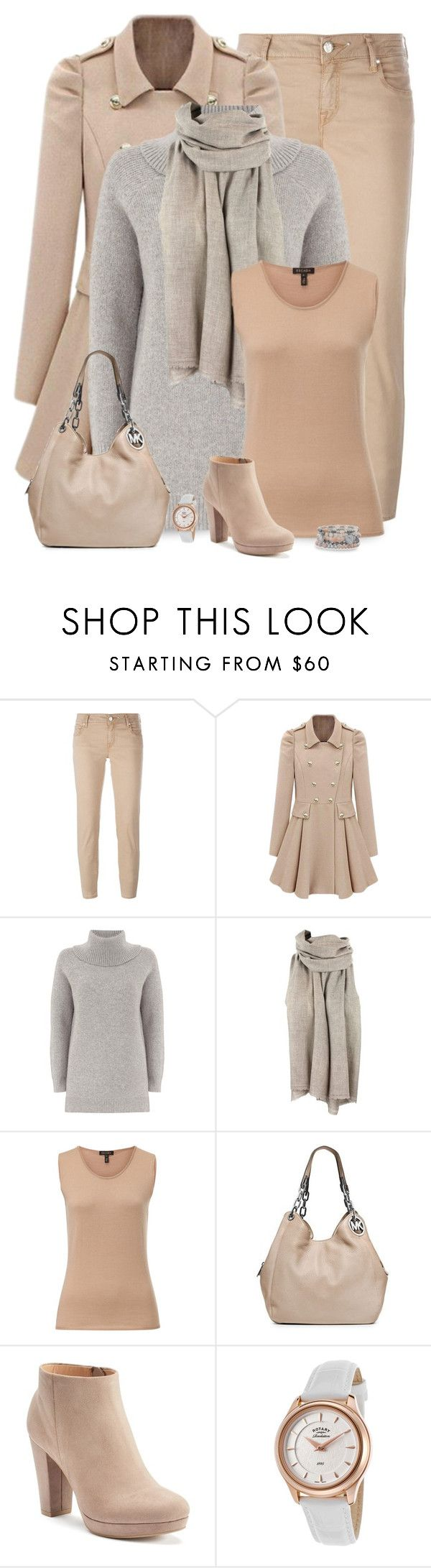 """Nudest"" by csilla06 ❤ liked on Polyvore featuring Jacob Cohёn, Mint Velvet, ESCADA, MICHAEL Michael Kors, LC Lauren Conrad, Rotary and BillyTheTree"