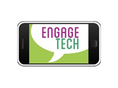 EngageTech logo branding by Design-Kink