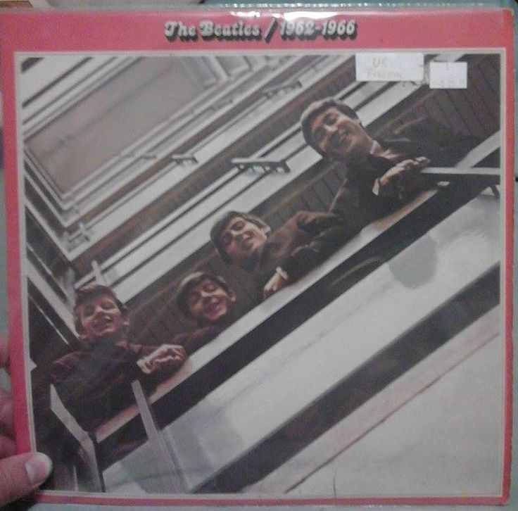 The Beatles  1962-1966 Red Album Original UK Pressing On Vinyl