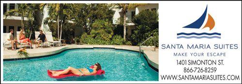 KEY WEST - Just One Block From Duval Street, Santa Maria Suites Resort | Bed & Breakfasts in Key West, Key West Hotels, Key West Motels, Key West Accommodations