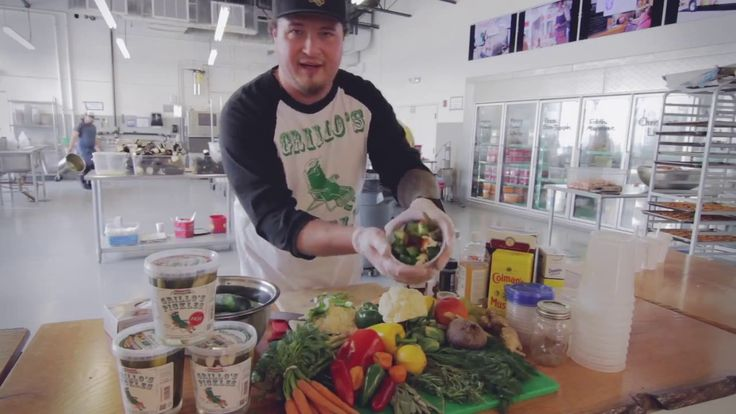 Welcome to Brine Time with Grillo's Pickles! My name is Travis Grillo and along with the help of my cousin and right hand man Eric, we have put together a class on the art of pickling.Eric and I know first hand how fun, delicious, and creative pickling can be, so we are incredibly excited to share some techniques with the people! In this class we will go over supplies, types of brines, vegetable characteristics...
