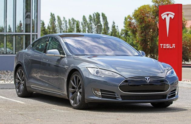 9 Electric Cars you can actually buy in 2012  Tesla Model S at the factory