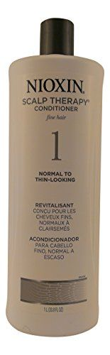 Nioxin Scalp Therapy, Conditioner System-1, Normal to Thin-Looking, 33.8 Ounce  //Price: $ & FREE Shipping //     #hair #curles #style #haircare #shampoo #makeup #elixir