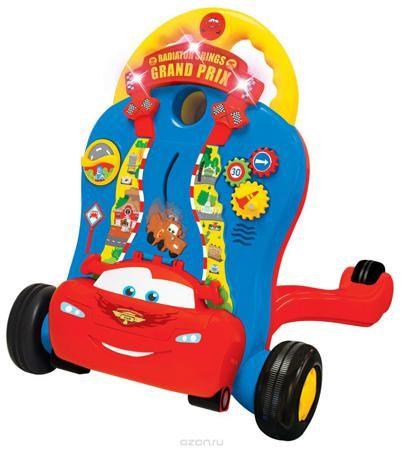 Kiddieland Каталка-ходунок Молния Маккуин  — 5393р. ------------ Устойчивые ходунки, которые помогут ребенку сделать первые шаги под веселые песенки! Вращайте красочный ролик или крутите шарики. Нажимайте на разные цветные кнопки, чтобы выучить фигуры и услышать поощряющие звуки и мелодии с мигающими огоньками. С подсвечиваемым экраном для отображения фигур и других узоров для улучшения процесса обучения и визуального восприятия. С цветными шариками, чтобы кидать и наблюдать, как они…