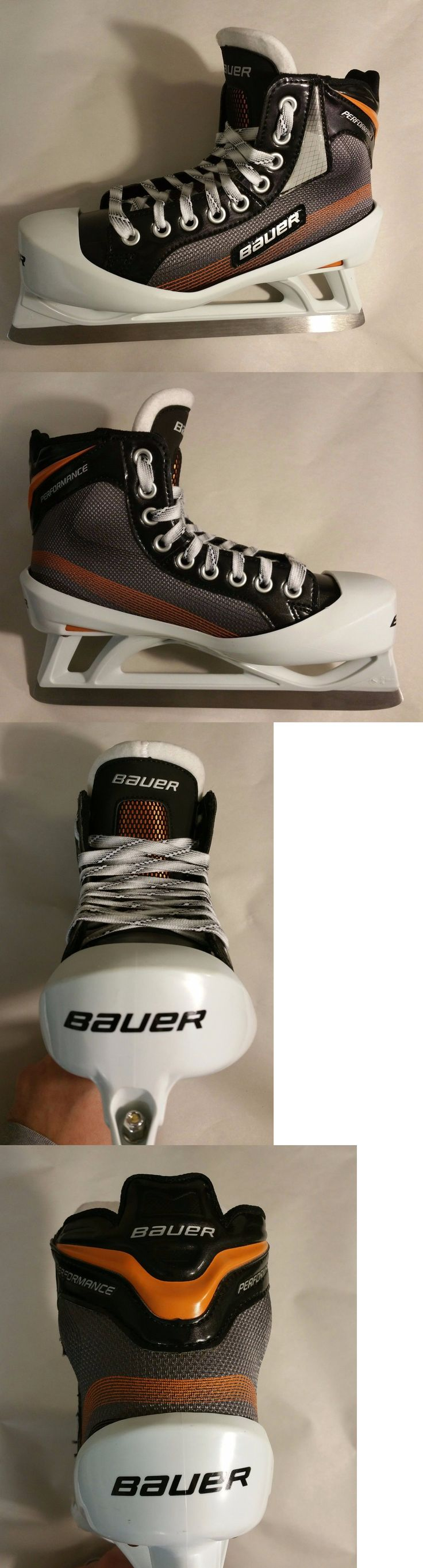 Ice Hockey-Youth 26342: Bauer Performance Ice Hockey Goalie Skate Junior Size 4 Ee (Wide) New In Box -> BUY IT NOW ONLY: $129.99 on eBay!