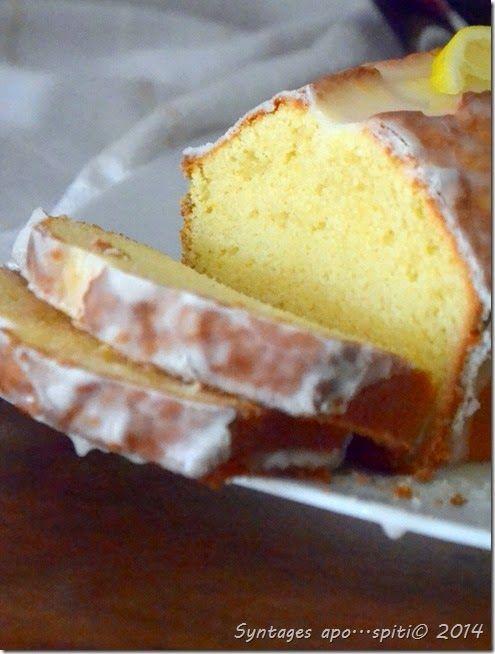 Υγρό κέικ λεμονιού με γλάσο   DSC_2305-001