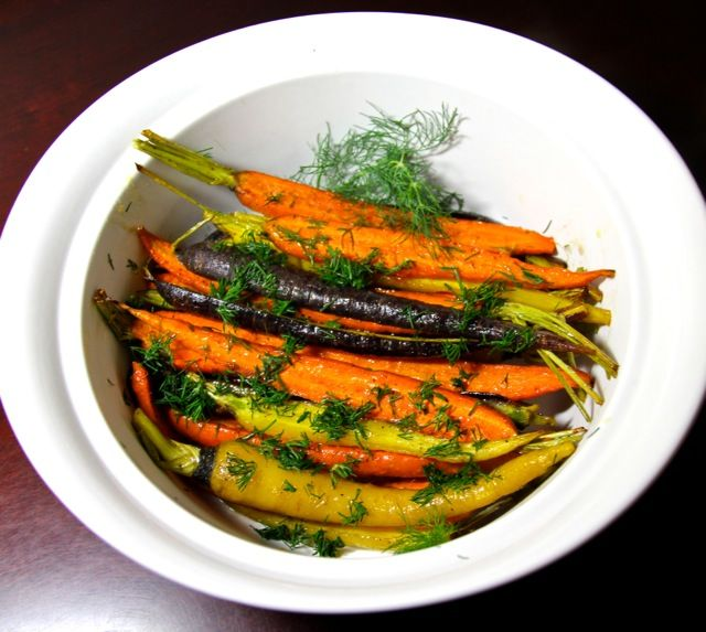 Polish Honey-Glazed Roasted Carrots with Dill - simply divine. From Polska Foods: http://www.polskafoods.com/polish-recipes/honey-glazed-roasted-carrots-dill