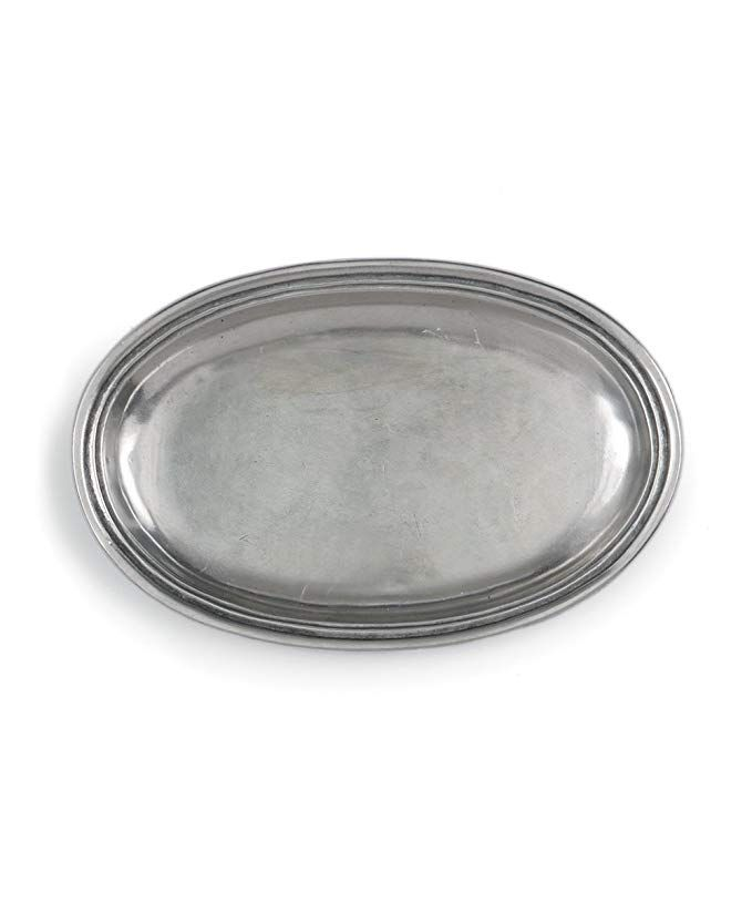 Arte Italica Peltro Pewter Small Oval Dish Review Serving Dishes Trays And Platters