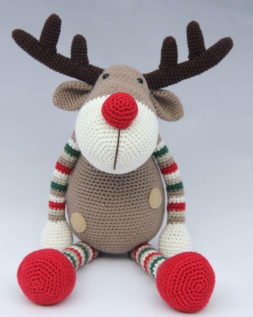 Pattern Reindeer Ralf