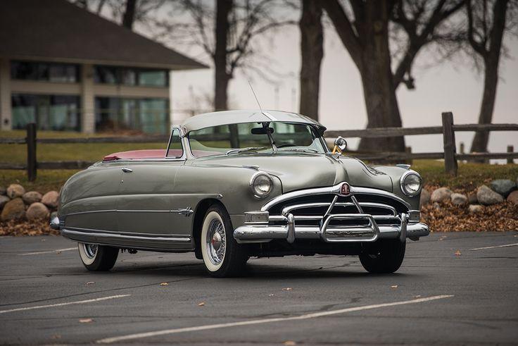 1951 Hudson Hornet Convertible Brougham  #HudsonHornet #ClassicCar #Convertible #Auction